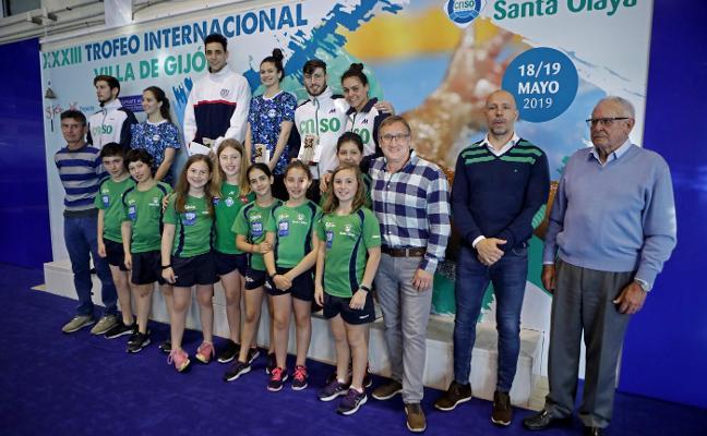 Morote y Monteiro se llevan el Trofeo Villa de Gijón
