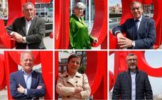Así se definen los candidatos de Gijón a través de su firma