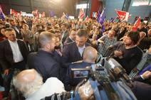 Pedro Sánchez moviliza el voto para el PSOE en Gijón