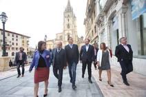 Pedro Sánchez respalda a los candidatos del PSOE en Asturias