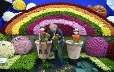 La belleza del mayor festival de flores del mundo
