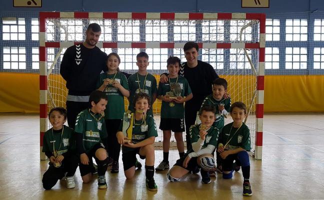 Victoria en el Campeonato de Asturias de minibalonmano