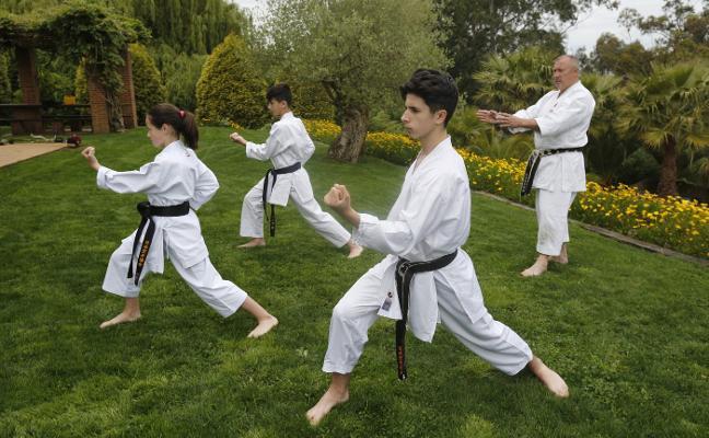 El ADN karateca de los Pando Llave