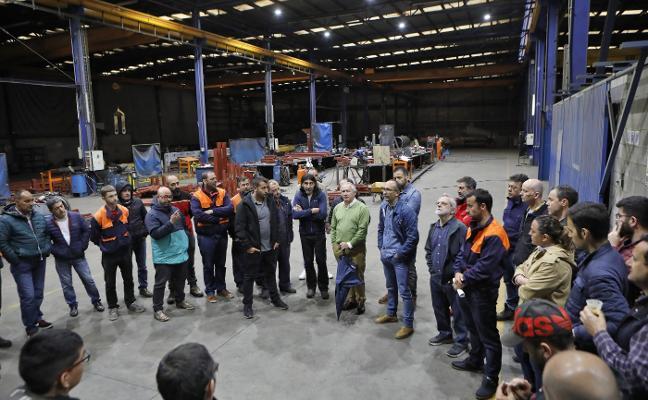 La plantilla de Tuinsa reclama «soluciones inmediatas» a los nuevos dueños de la empresa