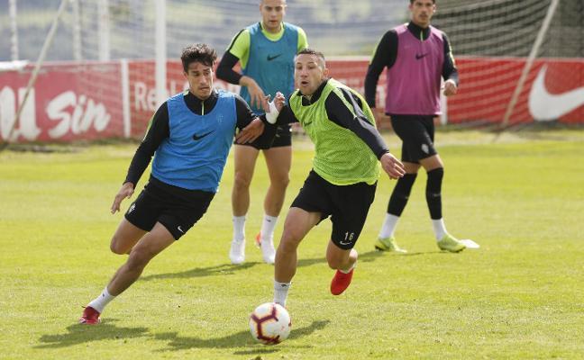 La plantilla prepara desde hoy el partido del sábado frente al Albacete