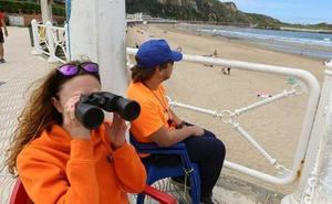 Salvamento en Playas contará este año con 38 socorristas en su bolsa de empleo en Castrillón