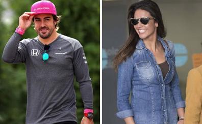 Fernando Alonso y Lara Álvarez, los mejores compañeros de cañas