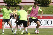 Entrenamiento del Sporting 21/05/2019
