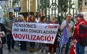 Los pensionistas asturianos vuelven a la calle