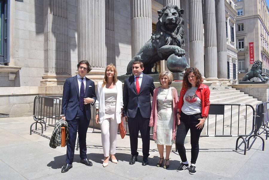 Los diputados asturianos en el Congreso
