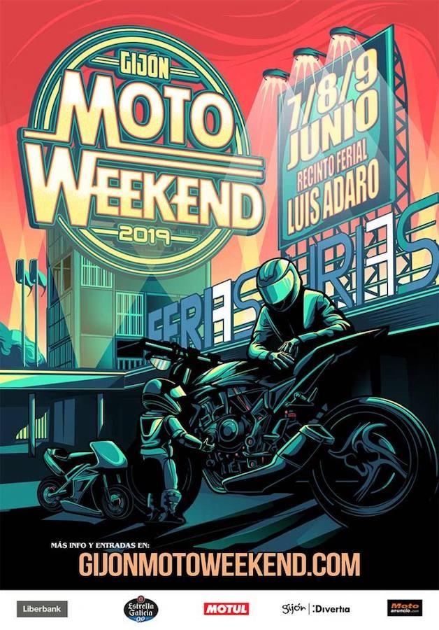 El festival Moto Weekend en Gijón