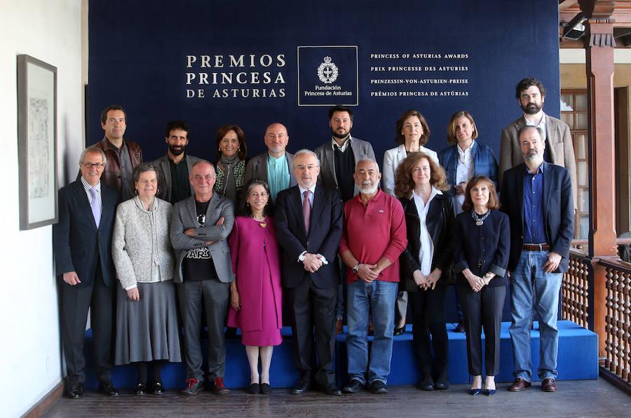 El jurado del Premio Princesa de Asturias de las Letras 2019: «Buscamos al mejor literato»