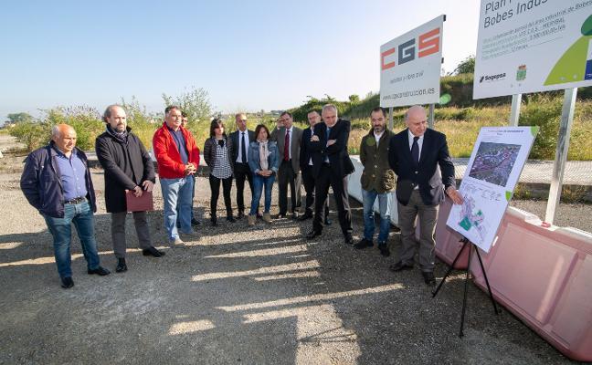 El reinicio de las obras de Bobes «dará viabilidad de Sogepsa», dice Fano