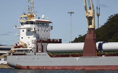 La exportación de zinc y los desbastes para Arcelor impulsan los tráficos portuarios