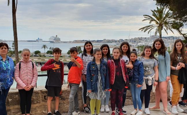 Lección de historia a pie de catedral en Mallorca