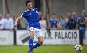 Cortina y Borja Sánchez se entrenan con el Real Oviedo