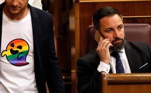 'Gaysper' se cuela en el Congreso en respuesta a las críticas de Vox