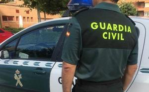 La Guardia Civil detiene a cuatro hombres por varios delitos contra el patrimonio