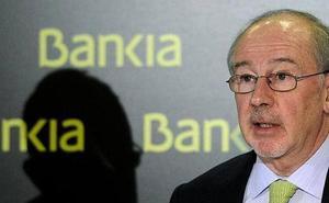 Rato se sentará en el banquillo por la publicidad de Bankia