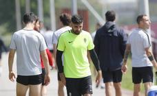 Entrenamiento del Sporting (22-05-2019)