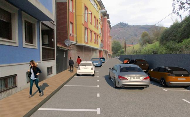 El PP cangués promete más aparcamientos en la ciudad