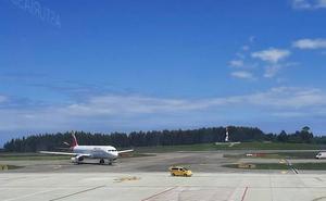 Accidentado aterrizaje en Asturias por un nuevo fallo en un avión de Iberia