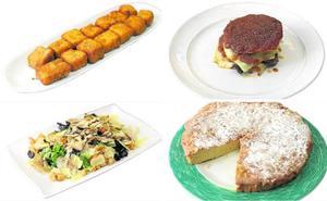 Platos sin gluten y con premio