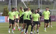 Entrenamiento del Sporting (23-05-2019)
