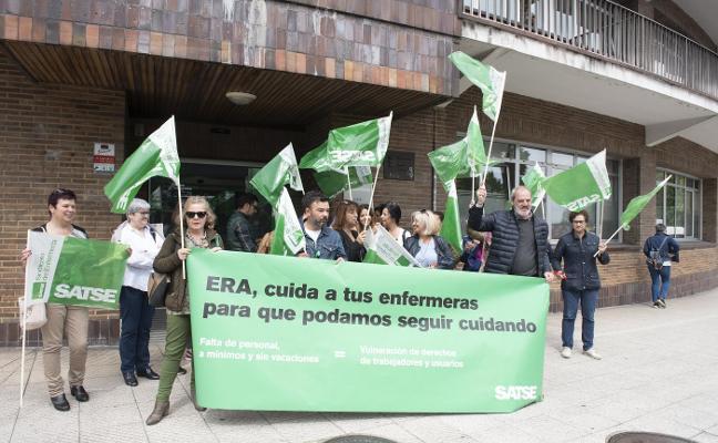 Protesta de las enfermeras del ERA