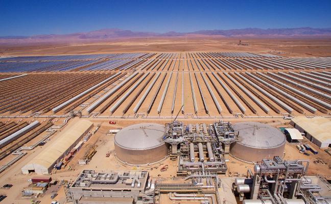 TSK construirá una planta solar híbrida en Marruecos de 700 millones de euros