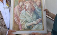 La Guardia Civil recupera un cuadro del pintor valenciano Miquel Vicens que fue robado en 2011