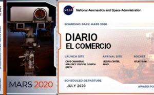 EL COMERCIO 'viaja' a Marte