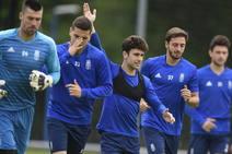 Entrenamiento del Real Oviedo 24/05/2019