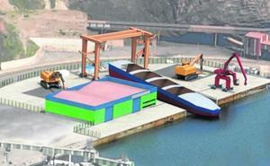 La planta de reciclaje de buques de El Musel estará operativa en julio