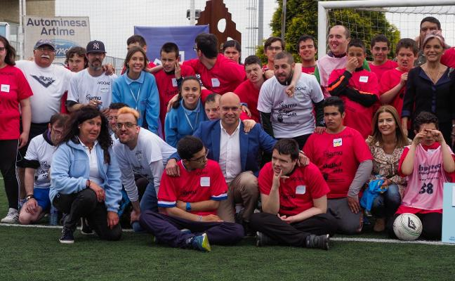 Jornada de fútbol inclusivo