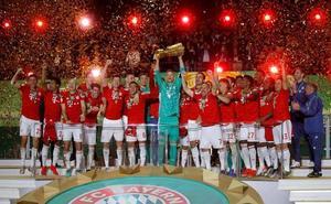 El Bayern termina la temporada con un doblete al conquistar la Copa