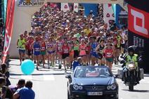 Sergio Sánchez y Paula Mayobre triunfan en el Media Maratón de la Reconquista