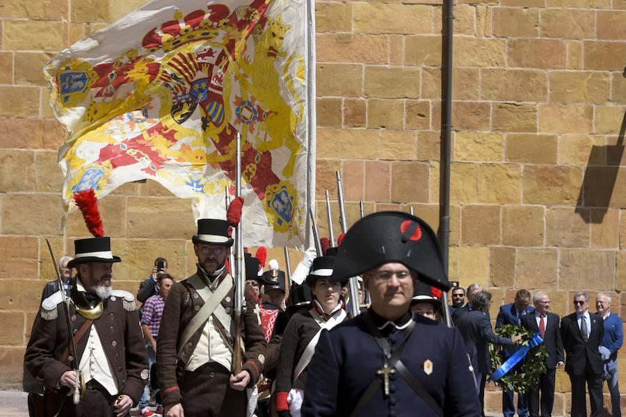 Oviedo recrea el levantamiento de 1808