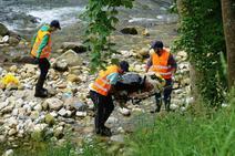 El río Casaño, más limpio