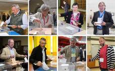 Los candidatos gijoneses confían en que la ciudadanía responda