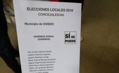 Elecciones en Asturias 26M: la Fiscalía investiga un posible fraude en las listas de Ganemos Oviedo