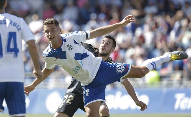 Las imágenes del partido entre el Tenerife - Real Oviedo