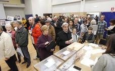 Elecciones en Asturias 26M: la participación cae más de 13 puntos respecto a las generales del 28A pero crece en relación a 2015 (+4,12%)