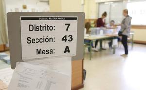 Elecciones en Asturias 26M: la participación baja casi 8 puntos respecto a las generales del 28A y similiar (-0,81%) a las autonómicas de hace cuatro años