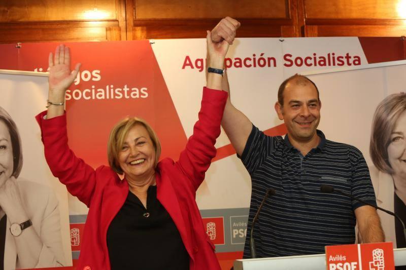 El PSOE revalida el triunfo en Avilés