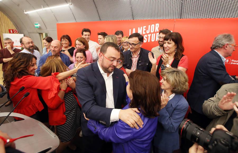 El PSOE gana en Asturias con holgura