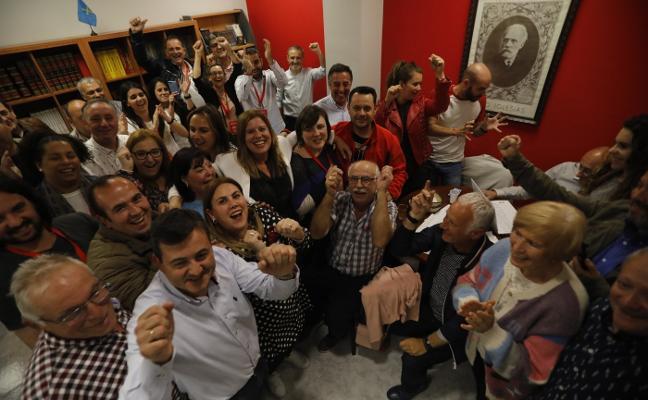 Elecciones municipales 26M: Los socialistas ganan por un concejal a la coalición Unidas por Llangréu