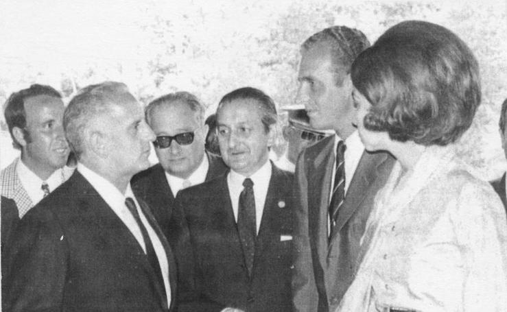 El rey Juan Carlos, en Asturias