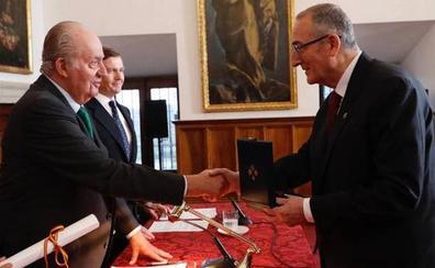 El último servicio a la Corona del rey Juan Carlos