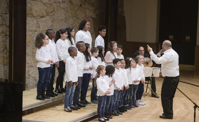 Quinientos escolares salen a escena con los conciertos de fin de curso de Aulas Corales